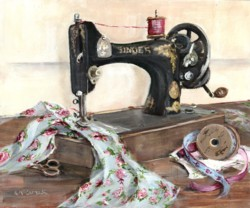 Singer Sewing - Available as prints and gift cards