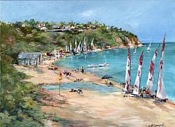 Original Painting on Canvas - Mt Martha Beach - postage included Australia wide