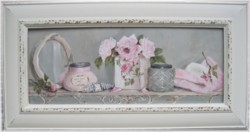 Original Painting - Larger size - Bathroom Shelf - Postage is included Australia wide