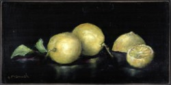 Original Painting on Panel - Lemons - SOLD OUT