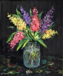 Original Painting on Canvas - Brilliant Stocks - 25 x 30cm series