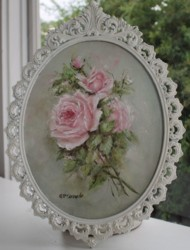 Original Painting - Pink Rose Study - Postage is included Australia Wide