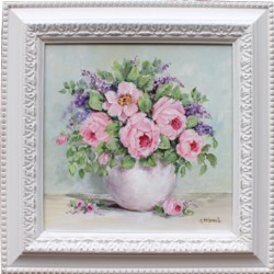 Original Painting - Blooms in a Vase - FREE POSTAGE Australia wide