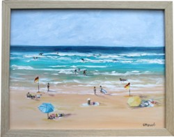 Original Painting - Summer Dreams - Postage is included Australia Wide