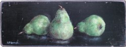 Ready to hang Print - Trio of Pears - FREE POSTAGE Australia wide