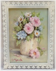 Original Painting in Ornate Italian frame (No. 2) - Postage is included Australia wide