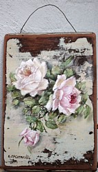 Original Painting - Roses - Postage is included Australia Wide