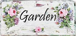 Garden Sign - hand painted - Postage is included Australia wide