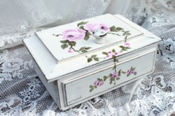 Hand Painted - Timber Box - Postage is included Australia Wide