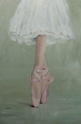 "Original Painting - ""Pointe Shoes"""