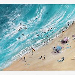 Original Painting on Panel - Summer's End - postage included Aus. wide