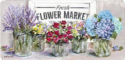 Flower  Market - Original Painting - Postage is included Australia wide
