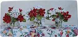 Floral Fabric & Flowers - Postage is included Australia wide