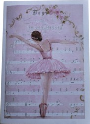 Gift Card-Single card - Dance - Free Postage Australia wide only