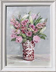 Original Painting - A May Bunch - Free PostageAustralia wide