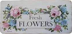 Original Painting - Fresh Flower sign - Postage is included Australia wide