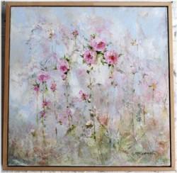 Original Painting - Rose Awakening - sold