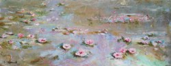 Original Painting on Panel - Floating Roses SOLD