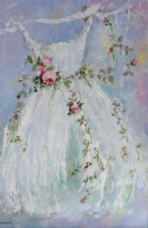 Original Painting on Panel - The Gown