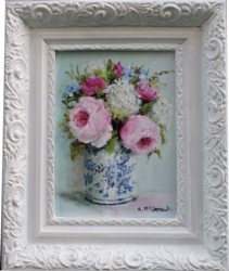 Original Painting - A Sweet Bunch - Postage is included Australia Wide