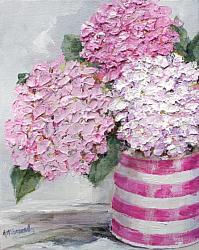 Original Paintings on Canvas - Pinks - 20 x 25cm series