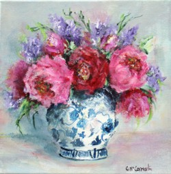 Original Painting on Canvas - Assorted Bunch - 20 x 20cm series
