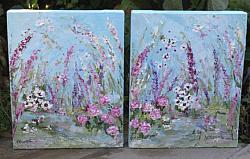 Original Paintings on Canvas - In Bloom sold