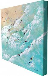 Original Painting on Panel - In the Water - postage included Aus. wide