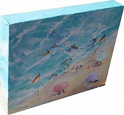 Original Paintings on Canvas - At the Beach - 20 x 25cm series
