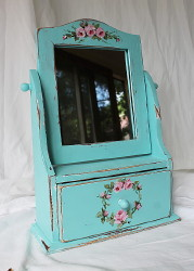 Revamped Swing Mirror with Drawer - Postage is included Australia Wide