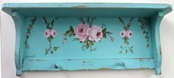 Hand Painted Shelf - Postage is included Australia Wide