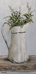 Original Painting on Panel - The White Enamel Jug - Postage is included Australia Wide