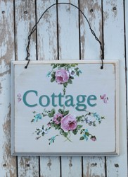 Hand Painted Sign - Cottage