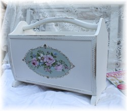 Hand Painted Magazine Tidy - Postage is included Australia Wide