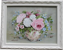 "Original Painting - ""Mixed Blooms"" - Postage is included Australia wide"