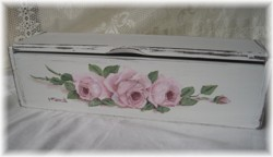 Hand Painted Timber Box - Postage is included Australia wide