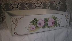 Hand painted Box - Postage is included Aus. wide
