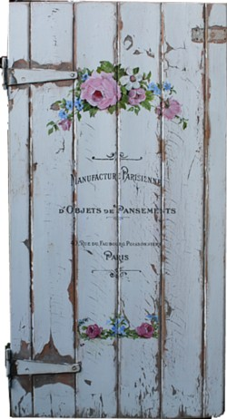 Original Painting on large Vintage Door - Postage is included Australia Wide