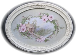"""Original Painting """"Cottage Roses"""" - Postage is included Australia wide"""