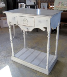 Solid Timber Dressing Table Style Bench - Free Local Delivery!
