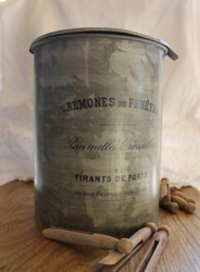 Revamped Vintage Peg Tidy - French Lettering - Postage is included Australia Wide