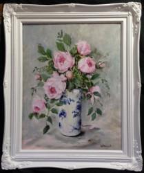 Original Painting - Peonies - postage is included Australia wide