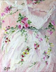 Miniature Painting Tutu pink 2 - postage included Australia wide