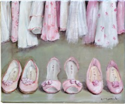 "Original Painting - ""Inside The Wardrobe"" - Postage is included Australia Wide"