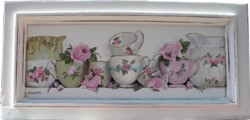 Original Painting on Timber Panel - Assorted China - Postage is included Australia wide