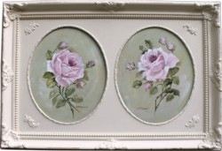 """Original Painting """"Pair of Roses"""" - Postage is included Australia Wide"""
