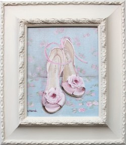Original Painting - Dancing Shoes - FREE POSTAGE AUSTRALIA WIDE