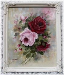 "Original Painting ""Rose Bouquet"" - Postage is included Australia Wide"