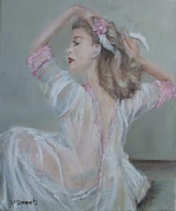 Figure Study, Original Painting - Postage is included Australia Wide