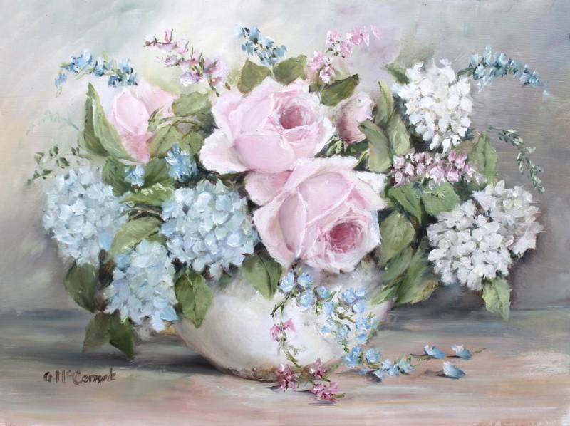 Favourite Blooms, Original Painting